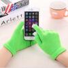 WISHCLUB сенсорный экран перчатки смартфон сенсорный экран перчатки трикотажные зимние шерстяные теплые перчатки перчатки без пальцев шерстяные с рисунком розовые
