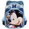 Disney (ученики начальной школы школьные сумки мальчики рюкзак мультфильм 3D потеря руля сумки мешки для детей мужские модели DB96090A (Микки Блю) мужские сумки