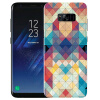 Yomo S8 Samsung мобильный телефон оболочки мобильный телефон защитный рукав оболочки телефон рельеф s8 текстура коры Mosaic телефон