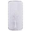 Белое дерево шаблон Мягкий чехол тонкий ТПУ резиновый силиконовый гель чехол для LG K7/K8