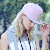 Поэзия Дэн Кайса (sedancasesa) WG170005 модные мужчины и женщины бейсболка козырьком ребенка пара досуг Корейский моды волна хип-хоп шляпа плоской шляпе розовый