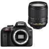 Nikon (Nikon) D3400 SLR комплект (AF-S DX Nikkor 18-105mm F / 3.5-5.6G ED VR) Black профессиональная цифровая slr камера nikon d3300 18 140 18 105mm