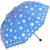 [Супермаркет] рай зонтик Jingdong винил ремонт сливочного шелк цветок принцесса кружево южного зеркало сложенный зонтик ВС зонтик синий 36049E егерь последний билет в рай котенок