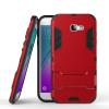 Красный Slim Robot Armor Kickstand Ударопрочный жесткий корпус из прочной резины для SAMSUNG Galaxy A7 2017/A720 аксессуар чехол samsung galaxy a7 2016 cojess armor case slim флотер blue