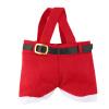 1PC Красные Уловка-или-удовольствие сумки Брюки Санта-Клаус брюк конфеты Сладкий подарочные пакеты будзи риджина уловка для любви уловка для любви