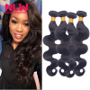 Bouncy Top Quality N.L.W. Products Brazilian Virgin Hair Body Wave 4 Bundles 8A Unprocessed Free Shipping Full and Thick best new product on sale 30% 750ml brazilian keratin hair treatment hair free shipping