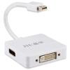 Regent (JH) 3500 компании Apple Mini DP на HDMI мини-конвертер Thunderbolt Mini DisplayPort адаптер подключен HDTV проекторы белый apple thunderbolt display mc914ze a