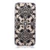 Черные цветы Pattern Мягкая обложка Тонкий ТПУ резиновый силиконовый гель чехол для IPHONE 6 Plus/6S Plus xincuco embossed pattern hard shell for iphone 6s plus 6 plus colorful flowers