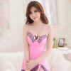 GFM женщина сексуальное женское белье горячий сексуальный соблазн строп Nightdress розовый костюм с груди колодки 8095 стимуляторы простаты тьс v