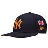NewEra Нью-йоркские янки согнулись вдоль шапки с капюшоном для бейсбольной кепки и модной кепки для прически хип-хопа 11416116 7 1/4 original walkera tali h500 fpv multirotor part worm servo tali h500 z 21 free shipping with tracking