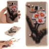 Четыре сливы картины мягкий тонкий ТПУ резиновый силиконовый гель обложка чехол для Samsung Galaxy Grand Prime G530H смартфон