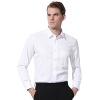 Добродетель Fusion бархата рубашка мужчины толстый теплый твердый бизнес-соответствия норм нежелезного мужской белого платья рубашка YCM50113083 39 (170/88) ламинатор gbc fusion 1000l a4 black