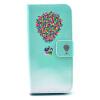 Воздушный шар Дизайн PU кожа флип кошелек карты держатель чехол для IPHONE 5
