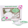KIDOKARE Детская посуда Детские столовые ложки розовый + зеленый KK-07 munchkin детские ложки розовый 15807