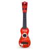 Beifen музыка (buddyfun) Детские развивающие игрушки Детские гитары регулируемые струны 88043 красный buddyfun k063807 наушники детские музыкальные детские игрушки наушники гарнитуры