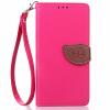 цена на Розовый Дизайн Кожа PU откидная крышка бумажника карты держатель чехол для Lenovo K3 Note