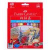 Faber-Castell классический масличный цветной карандаш-60 в металлической коробке faber orizzonte eg8 x a 60 active