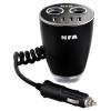 Niufukesi (NFA) автомобильное зарядное устройство автомобильное зарядное устройство 6521 четыре USB прикуривателя один на двоих с