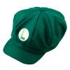 Шик Луиджи Super Mario Bros Cosplay Размер взрослых Hat Cap Бейсбол костюм Новый