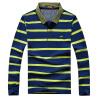 (CARTELO) с длинными рукавами футболка мужской лацкане полосатый мужской случайный рубашка POLO 16001KE0903 фрукты зеленый XL polo sport рубашка плед случайный с длинными рукавами рубашка мода slim мужской раздел 71lf15484 темно синий xl