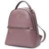 Красная долина HONGU наплечная сумка Женская мода Повседневная одежда Женская кожа Большой рюкзак большой емкости H51909163 Розовый фиолетовый женская одежда