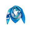 Мария Gucci (Марджа Керки) Малый Мисс Фанг Джин шелковые шарфы европейский и американский стиль бирюзовый 1BB110045 начиная от радости