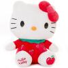 Hello Kitty Hello Kitty плюшевых игрушек кукла фрукты серия KT мультфильм кукла кукла подушки, сидя KT 15-дюймовый яблочный красный KT1340 кукла smoby smoby кукла hello kitty emma