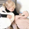 MyMei Fashion Handmade Soft Velvet Kids Baby Princess Swan Stuffed Toys Pillow Toys Bedding Decor Home Decoration mymei pokemon pokeball go ultra soft pillow decor pillow soft plush doll