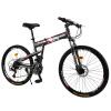 Феникс 26 дюймов горный велосипед 27 скорость складывающиеся амортизирующие велосипед мужчины и женщины студенческий велосипед