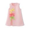 Fuluo чо Flordeer французская детская одежда для девочек бабочка узел розовый юбка жилет юбка платье F71014 140 ai fuluo iflow