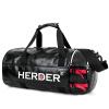 Он Denger (пастух) LX0108 большой емкости сумка сумки черные сумки спортивные и фитнес