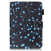 Звездное небо Дизайн PU кожа флип кошелек карты держатель чехол для IPAD6 картленд барбара звездное небо гонконга