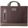 Moqi Si (Mokis) -15.6 15,4 дюймов компьютер сумка-дюймовый Apple, ноутбук Lenovo Asus Dell ноутбук сумка бизнес сумка случайные сумки коричневый бизнес MKDNB020-б asus a3v купить б у