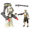 Hasbro (Hasbro) Звездные войны игрушки 3,75 дюймов старшие фигуры и куклы Mo Luofu штурмовика (известь) B7261
