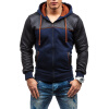 Мода пальто с капюшоном Mens вскользь куртки Hoodies сигнальная лента aviora 50ммх200м красно белая 302 011