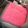 Yuhua Ze (Yuhuaze) синель обивка из двух частей мягкого теплые зимой толстый шерстяной подушка дивана подушки домашнего офиса (розовый)