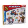Из медведей (Boonie медведей) магнитных блоков 392 48 Разнообразие потянув магнитные строительные блоки собраны паззл строительные игрушки для детей