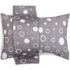 Санли хлопок кружева марля подушка 2 с AB версия плюсы и минусы 50 × 75 см счастливый круг - серый