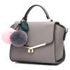 Doodoo новых японских и корейских минималистский большая сумка диагональ г-жа Посланника плеча сумку стороны сумки D6091 крылья темно-серый