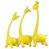 Набор цветов набор три оленей простой ветер олень домашняя обстановка свадебные подарки переместить новые подарки, чтобы отправить друзьям, чтобы отправить друзей мед HS16J02Y желтый