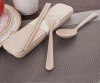 Portable Reusable Wheat Straw Spoon Fork Chopsticks Travel Cutlery Set environment-friendly Tableware 460542 wheat breeding for rust resistance