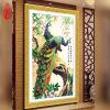 YGS-26 DIY 5D Алмазная живопись Крест-вышивка Круглые бриллианты Вышивка Павлин богатство и удача Алмазная мозаика Домашний декор