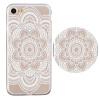 Hot Ultra Thin Mandala Lace TPU Gel SOFT Case Cover For iPhone 7 580328