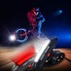 Велосипед Глава Передний Задний Задний светодиодный свет USB аккумуляторная 100 люмен + бампер передний и задний тойота марк 2 110