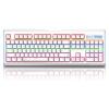 Лей Бай (Rapoo) V500L модернизирован свет смешивания механической клавиатуры игровой клавиатуры с подсветкой клавиатуры клавиатуры компьютера белый ноутбук клавиатура черный вал мышь rapoo n1162 белый