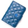 DOODOO кошелек женщин короткий раздел овчины новый маленький кошелек японский и корейский стиль монета монета мешок D6965 сапфир синий