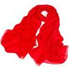 Шанхайский фондовый (STORY OF SHANGHAI) красный шелковый шарф длинный шелковый шелковый шарф женский шаль женский шарф l425
