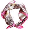 Lan Shiyu (LANSHIYU) шелк небольшой квадрат женщин шелковицы шелковый небольшой платок стюардесса шарф № 2 цвет lan shiyu lanshiyu шелковый шарф леди корейской версии шелковый чистый цвет складки осень и зима полотенце шарф темно серый