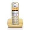 Оригинальные Siemens Gigaset телефоны C510 громкой комплект Германия импортировала китайский экран меню подсветка цифровой беспроводной большой машины Кнопка Стационарный Изображение перетащил (Crystal Orange)