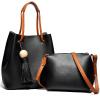 PLOVER женская сумка новая портативная мода простой одно плечо ковши женские карманы P16202L147J черный